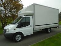 FORD TRANSIT 350 125PS LUTON TAIL LIFT 12 REG 82,700 MILES 14FT 6IN