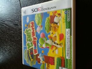 Pochy and Yoshis woolly world 3 DS game