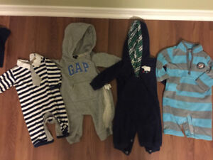 3-6 months 6 months clothing lot