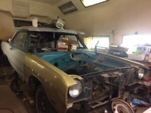 1969 Dodge Dart V8 4 Speed Project