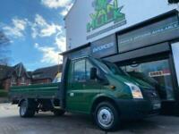 2012/12 Ford Transit Van 2.2TDCI 14FT Single Cab Dropside Pick up LWB NO VAT