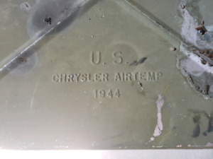 1944 Chysler Air Temp Military Stove