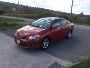2013 TOYOTA COROLLA LE - ONLY 53,000 - AUTOMATIC - 4 DOOR SEDAN