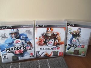 Jeu Madden NFL pour console Sony PS3