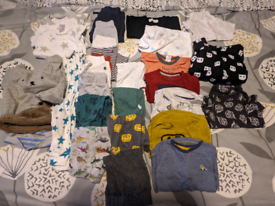 Boys 3-6 month clothes selection