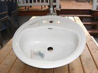 brand new American standard vanity sink