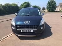 2010 Peugeot 3008 1.6 HDi FAP Exclusive EGC 5dr / 6 MONTHS WARRANTY