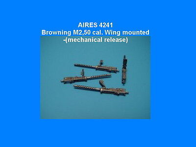 Aires 4241 d 1/48 Browning M2 .50cal Wing Mounted Mechanical Release