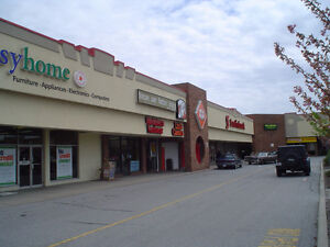 1300 sqft coming available in well anchored plaza on busy corner