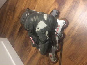 Soft boot rollerblades size 11