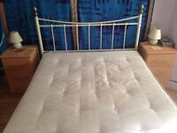 Double bed + mattress - collection only
