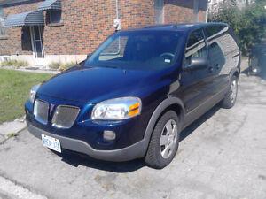 2007 Pontiac Montana w/1SA Minivan, Van