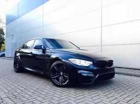 2014 14 Reg BMW M3 3.0 Dct + Black / RED Leather Saloon F80