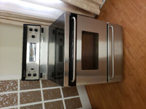 """GE stainless steel true convection 30"""" electric glass stove oven"""