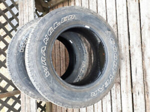 Four Wrangler Truck Tires