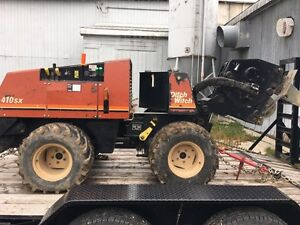DitchWitch 410SX Trencher