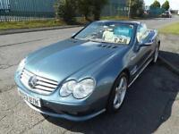 2003 03 MERCEDES-BENZ SL 5.0 SL500 2D AUTO 306 BHP
