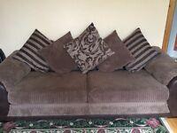 4 Seater Pillow Back Sofa - £275