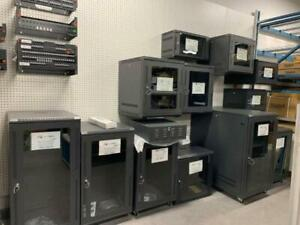 SERVER RACKS CABINETS, DVR CABINETS WALL MOUNTABLE IBM, HP SERVER RACKS 6U, 12U, 18U, 21, 24 42U PATCH PANEL SERVER DDR2