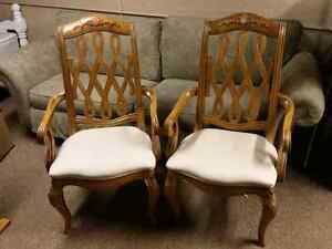 2 Beautiful Dining Chairs