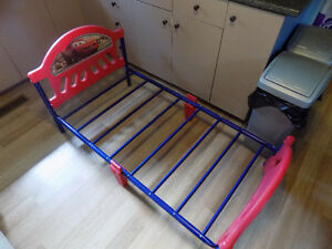 """Cars"" Toddler Bed with Mattress."