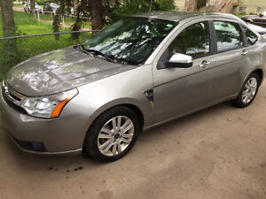 2008 FORD FOCUS SES ONLY 80 KM VERY CLEAN