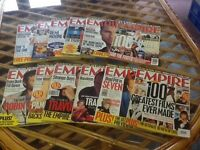 Empire movie magazines Full year 1996 12 issues Collect from Madeley, Telford