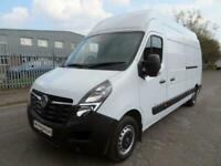 2020 70 Vauxhall Movano 2.3 Turbo D 135ps H3 White Damaged Salvage CAT N