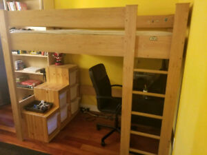 Kids bed bunk bed