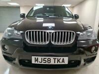 BMW X5 3.0 sd M Sport Black SUV Auto 4X4 7 Seater DIESEL WARRANTY 12 MONTHS MOT
