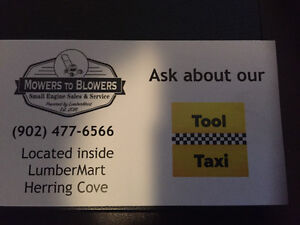 Small Engine Repair - Tool Taxi