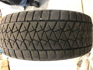 4 winter tires with rims, Bridgestone blizzak.....275/45R20 110T