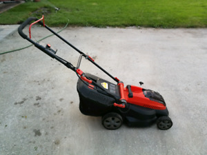 "Cordless black and decker 16"" 40v electric lawn mower"