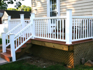 Spring is coming! Need a deck?