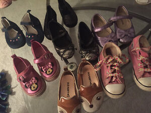 Size 6 girls shoe lot