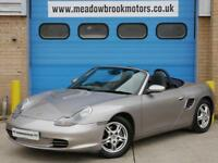Porsche Boxster 2.7 2003MY. 1 FORMER KEEPER FROM NEW 12 SERVICES