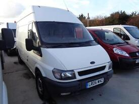 FORD TRANST 2.4 TD | LONG WHEEL BASE - HIGH ROOF | NO VAT TO PAY | 2006 MODEL