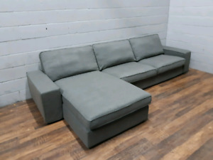Free delivery: Grey Ikea Kivik Sectional