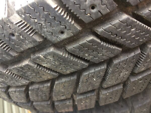 2-p195/70r14 brand new snow tires