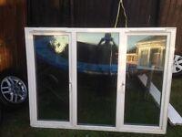 UPVC DOUBLE GLAZED WINDOW WITH 2 SIDE OPENERS 1770mm X 1305mm + 35mm CILL