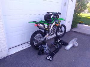 Motocross Kawasaki 250F 2010