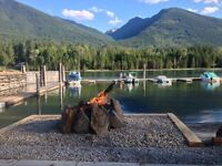 RV lots on Kootenay Lake, Nelson, BC