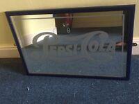 Retro Pepsi Cola Mirrors x 2