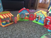 Happyland shops postbox and phone box