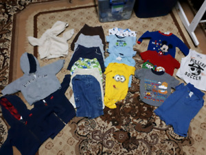 6 month boy clothing lot