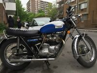 1973 Triumph Tiger 750. All original!