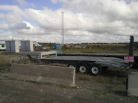New Price  FLAT BED 39 FT FIFTH WHEEL FLOAT TRAILER