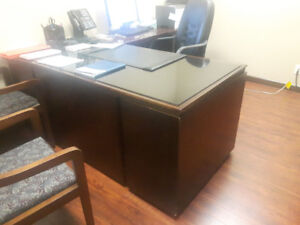 Kaufman executive desks- several to choose from. Solid wood