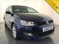2014 VOLKSWAGEN POLO MATCH EDITION HATCHBACK 1 OWNER SERVICE HISTORY