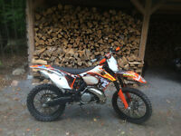 2012 KTM xc 250 in mint condition